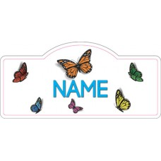 Butterfly Name Sign, Personalized